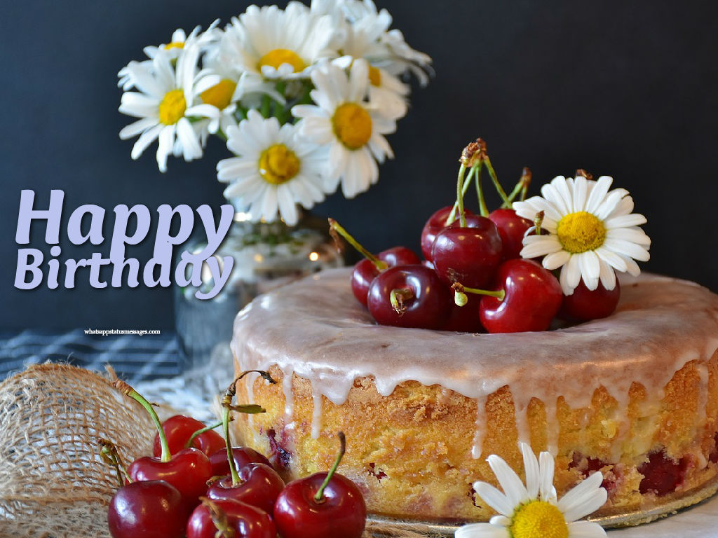 Happy Birthday Flower Cake 199 Images Free Download In Hd Flowers Candle