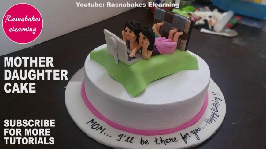 Happy Birthday Mom Cake Happy Birthday Mommom Birthdaymother Daughter Giftsgifts For Mom