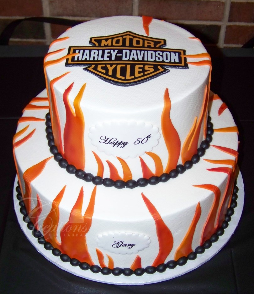 Harley Davidson Birthday Cakes 2013 All Occasion Cakes Creations Laura