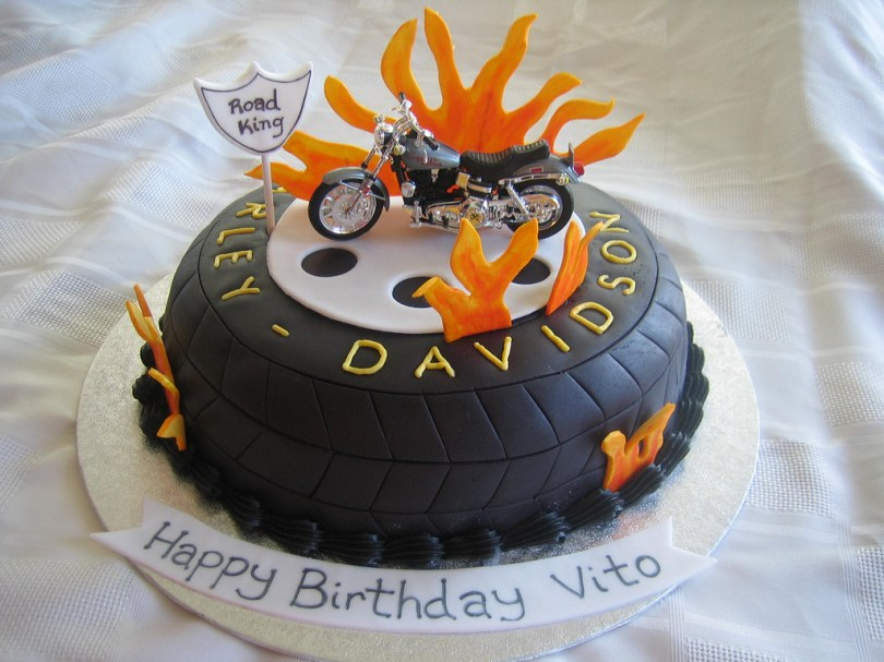 Harley Davidson Birthday Cakes Harley Davidson Birthday Cake Harley Davidson Birthday Cak Flickr
