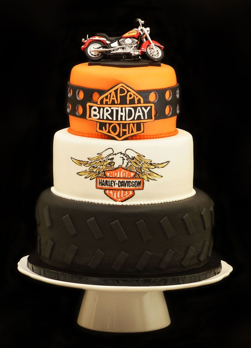 Harley Davidson Birthday Cakes Harley Davidson Cake Ram Harle