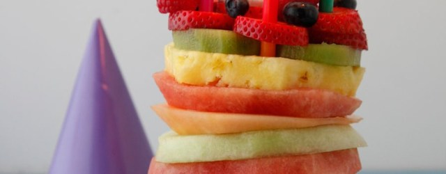 Healthy Birthday Cake Fruit Tower Birthday Cake Dessert Recipes Birthday Cake Healthy