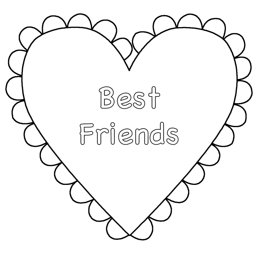 Heart Coloring Page Heart Coloring Pages Stadriemblems