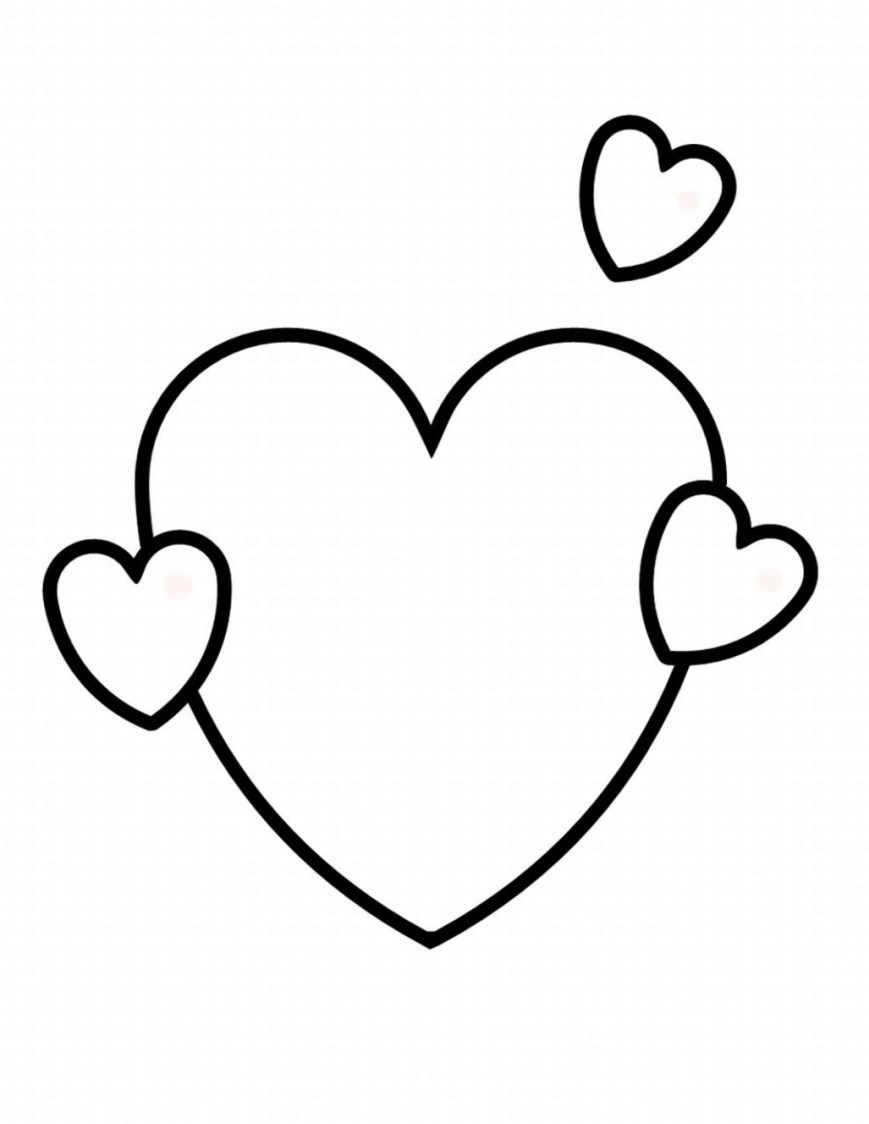 Hearts Coloring Pages Heart Coloring Pages Free Hearts Coloring Pages Coloring Pages For