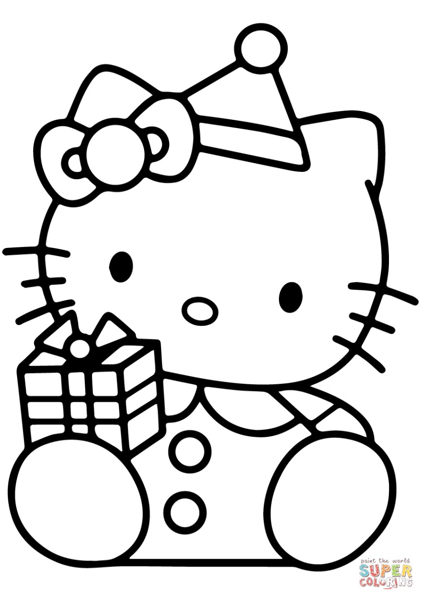 Hello Kitty Color Pages Coloring Page Extraordinary Hello Kitty Coloring Pages