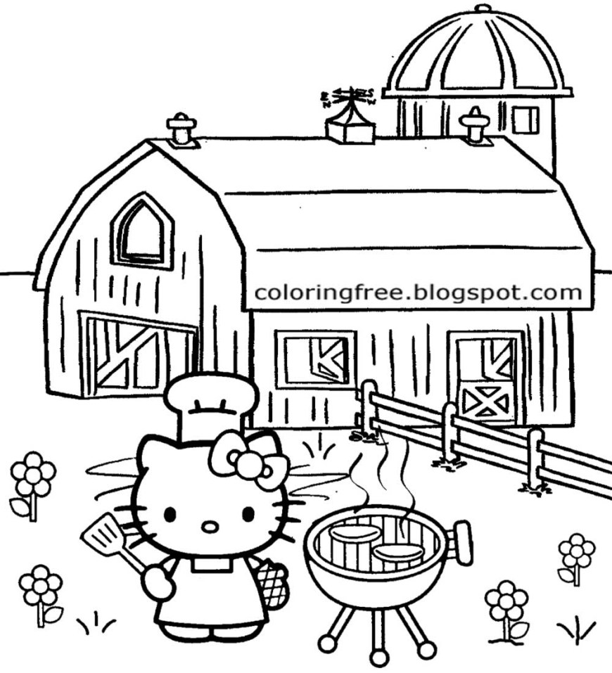 Hello Kitty Color Pages Coloring Pages Hello Kitty Malvorlage Bildergalerie Bilder Zum