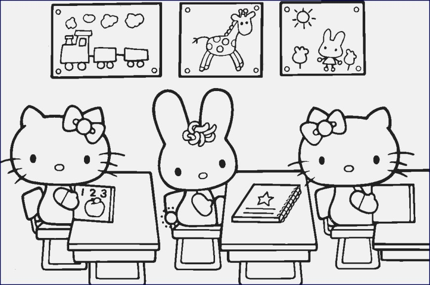 Hello Kitty Color Pages Kitty Coloring Pages Hello Malvorlage Eine Sammlung Von Frbung