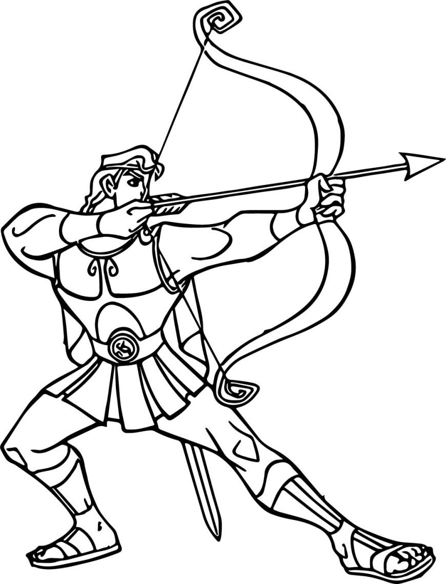 Hercules Coloring Pages Hercules Coloring Pages Wecoloringpage