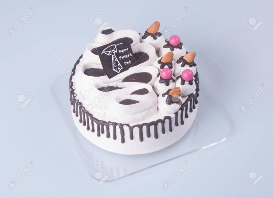 Ice Cream Birthday Cake Cake Or Ice Cream Birthday Cake On A Background Stock Photo Picture
