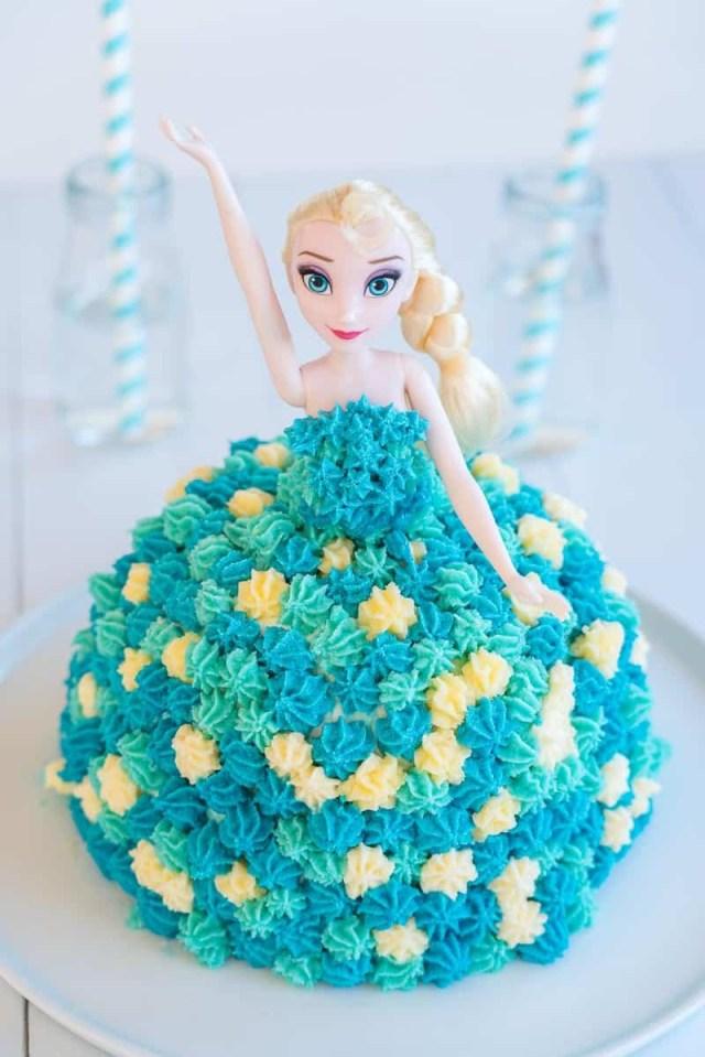 Ice Cream Birthday Cake Elsa Cake Easy Diy Birthday Cake Tutorial My Kids Lick The Bowl