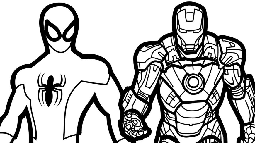 Iron Man Coloring Page Ironman Coloring Pages Iron Man 18cute Avengersavengers Book Fresh