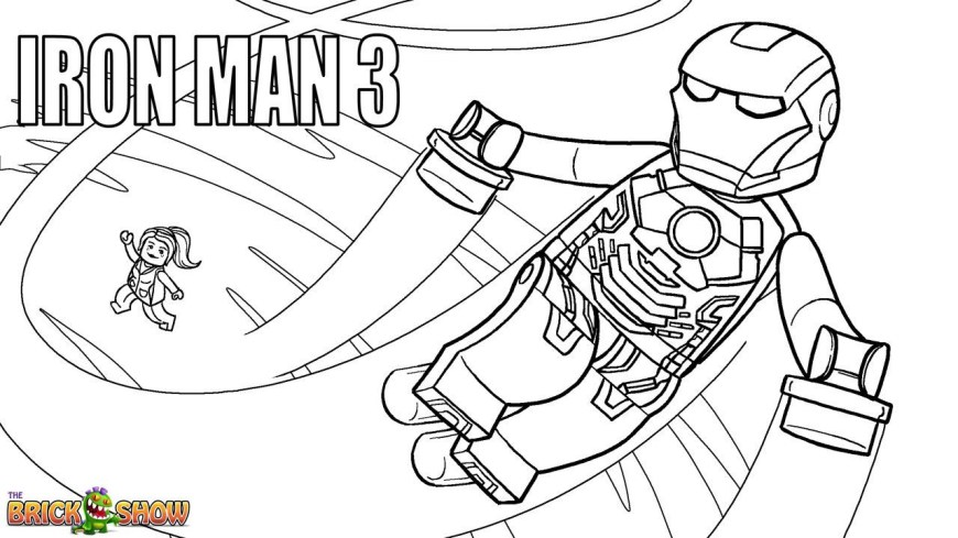 Iron Man Coloring Page Lego Iron Man Coloring Pages Lego Marvel Super Heroes Page 3 1280