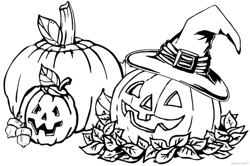 Jack O Lantern Coloring Page Happy Jack O Lantern Coloring Pages