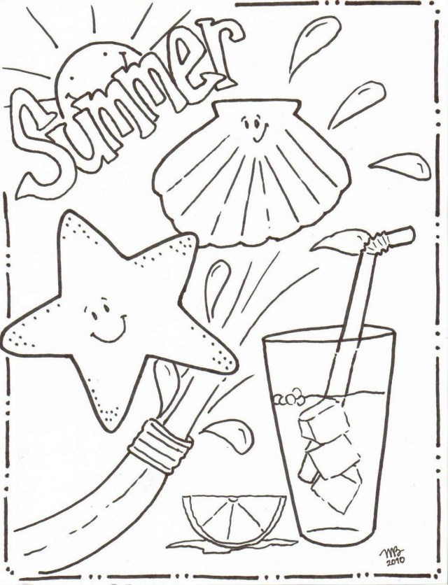 Beautiful Image of June Coloring Pages - davemelillo.com