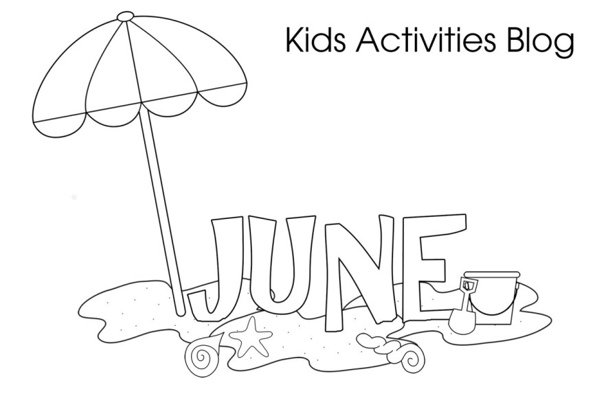 June Coloring Pages June Coloring Pages Cute Printable Coloring Pages