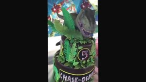Jurassic Park Birthday Cake Joyce Gourmet Jurassic Park Jurassic World Tyrannosaurus Rex