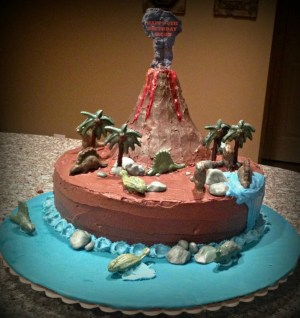 Jurassic Park Birthday Cake Jurassic Park Birthday Cakecentral