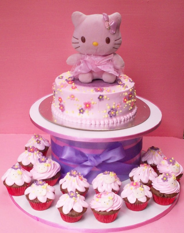Kitty Birthday Cake 8 Pretty Hello Kitty Cakes Photo Hello Kitty Birthday Cake Hello