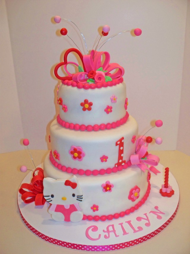 Kitty Birthday Cake Hello Kitty Birthday Cake Cakecentral