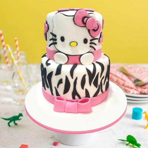 Kitty Birthday Cake Hello Kitty Birthday Cake