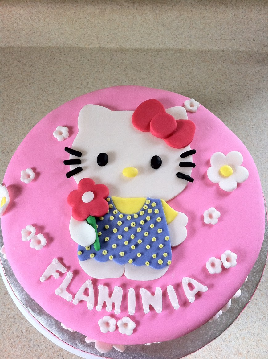 Kitty Birthday Cake Pink Hello Kitty Birthday Cake Lolos Cakes Sweets