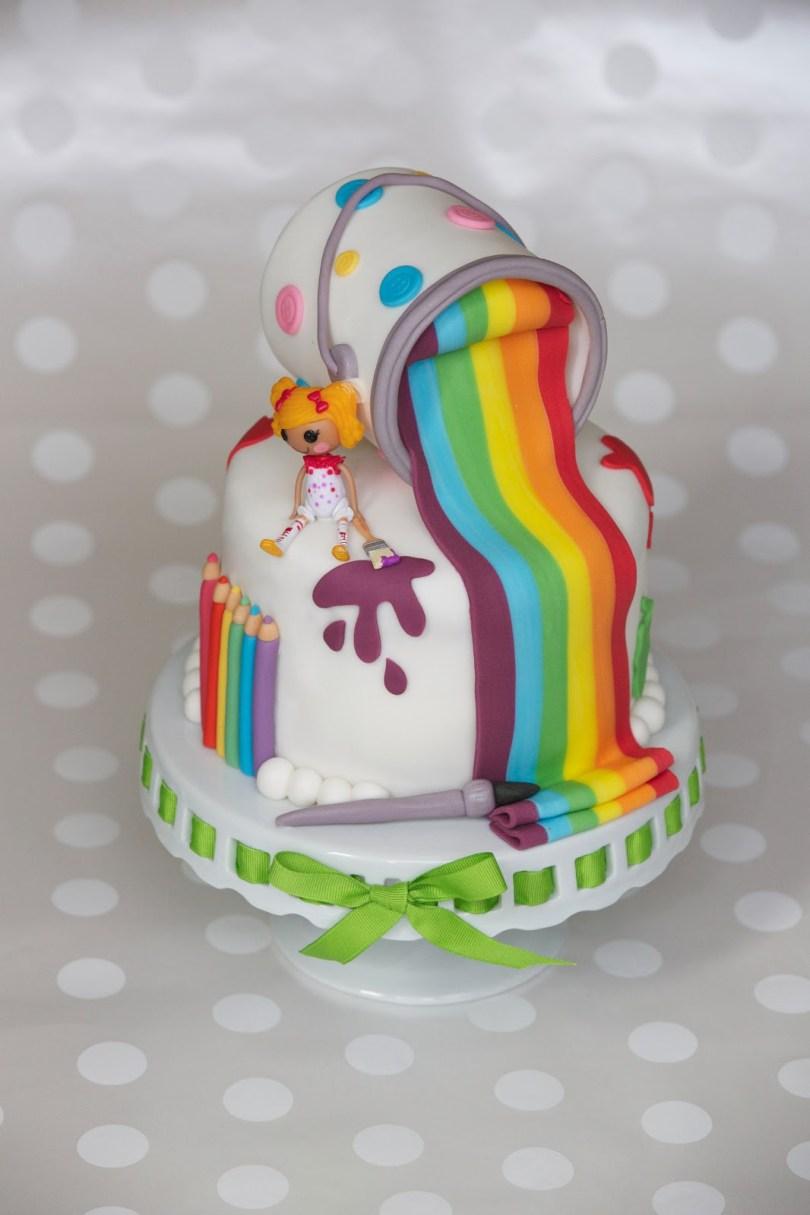 Lalaloopsy Birthday Cake Lalaloopsy Birthday Cakes
