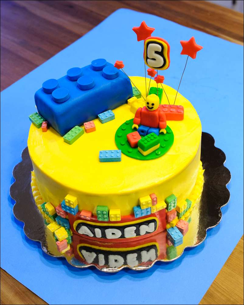 Lego Birthday Cake Lego Fondant Brick Cake And Cookie Tutorial Gray Barn Baking