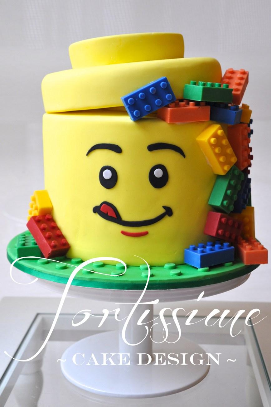 Lego Birthday Cake Lego Man Head Birthday Cake Cakes Melbourne Cupcakes Melbourne