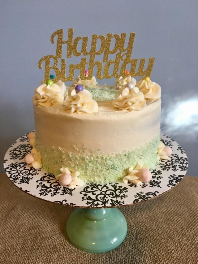 Lemon Birthday Cake Coconut Lemon Birthday Cake Cakecentral