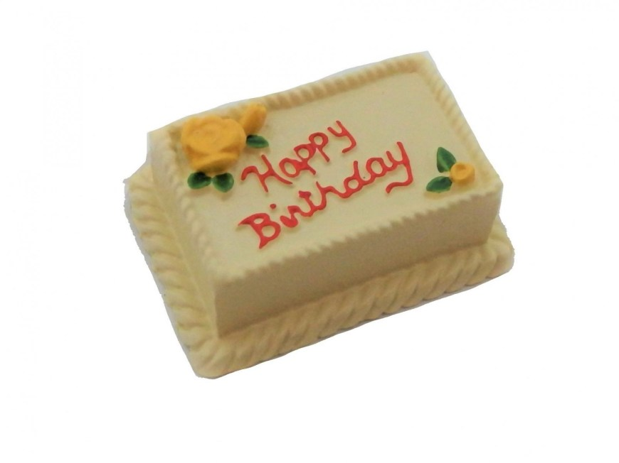 Lemon Birthday Cake Dolls House Lemon Birthday Cake Celebration Party Shop Accessory