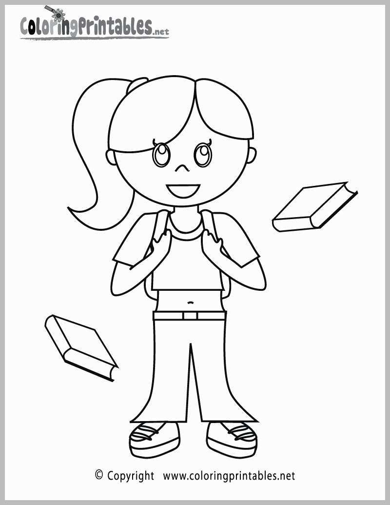 Little Girl Coloring Pages Coloring Pages Of A Little Girl Vietti
