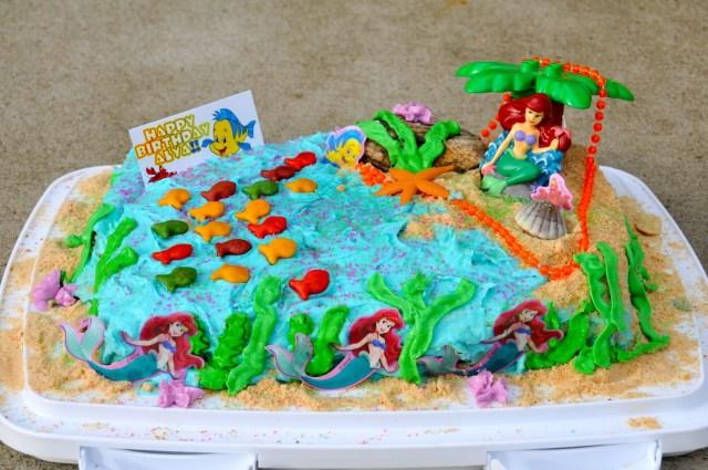 Little Mermaid Birthday Cake Mermaid Cakes Decoration Ideas Little Birthday Cakes
