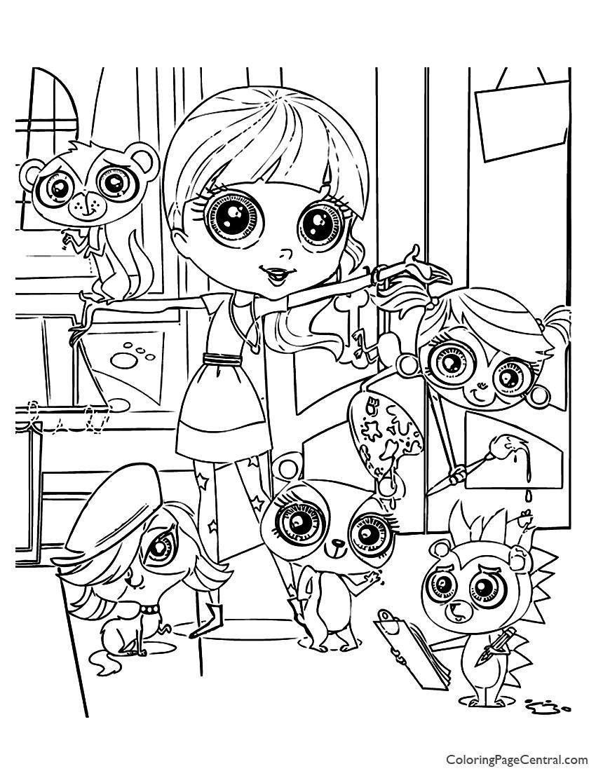 Littlest Pet Shop Coloring Pages Littlest Pet Shop Coloring Pages