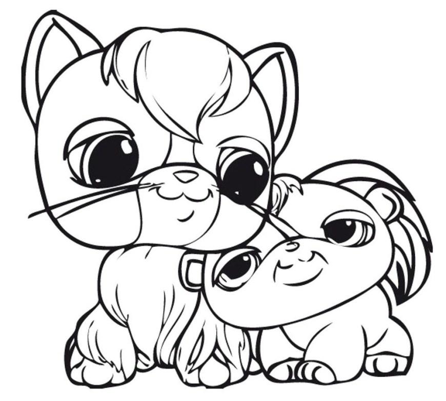 Littlest Pet Shop Coloring Pages Littlest Pet Shop Coloring Pages Bunny At Getdrawings Free For