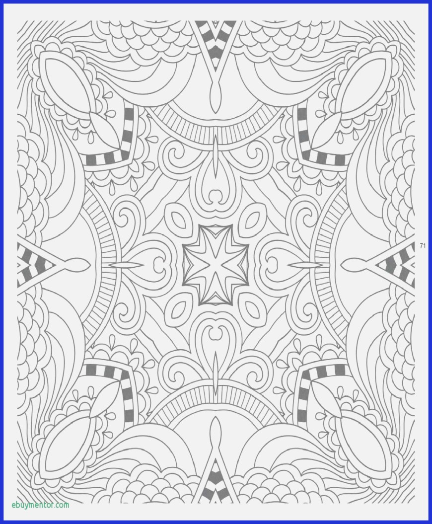 Mandala Coloring Page Coloring Books For Adults Mandalas New Photos 13 Best Easy Mandala