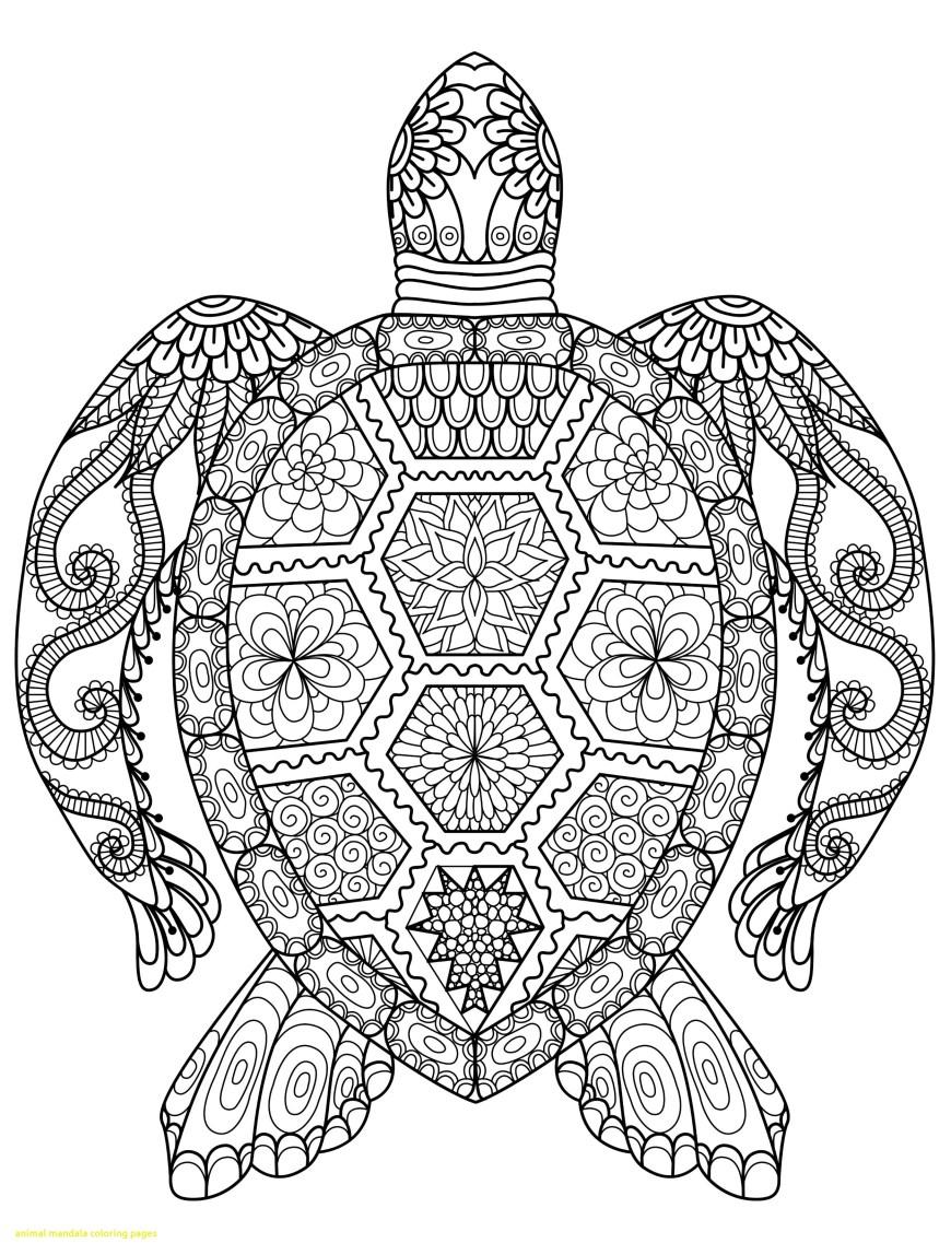 Mandala Coloring Page Mandala Coloring Pages Fresh Awesome Turtle Inside Mandela Bitslice