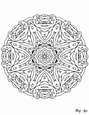Mandalas Coloring Pages Beautiful Free Mandala Coloring Pages Skip To My Lou
