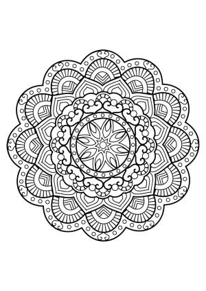 Mandalas Coloring Pages Endorsed Free Mandala Coloring Pages Pdf Ecosia Abkerrink Free
