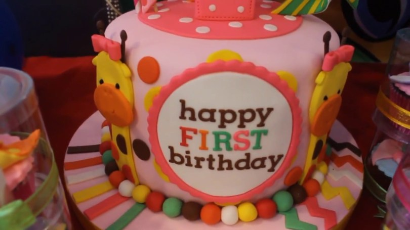 Mcdonalds Birthday Cake Jiahs 1st Birthday Mcdonalds Party Place Fairview Youtube