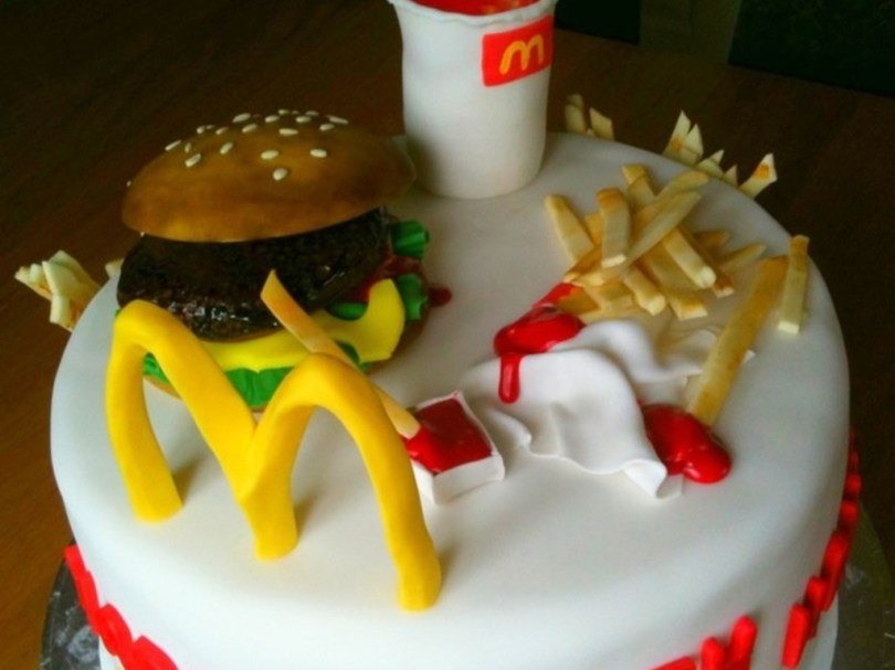 Mcdonalds Birthday Cake Mcdonalds Birthday Cake Cakecentral