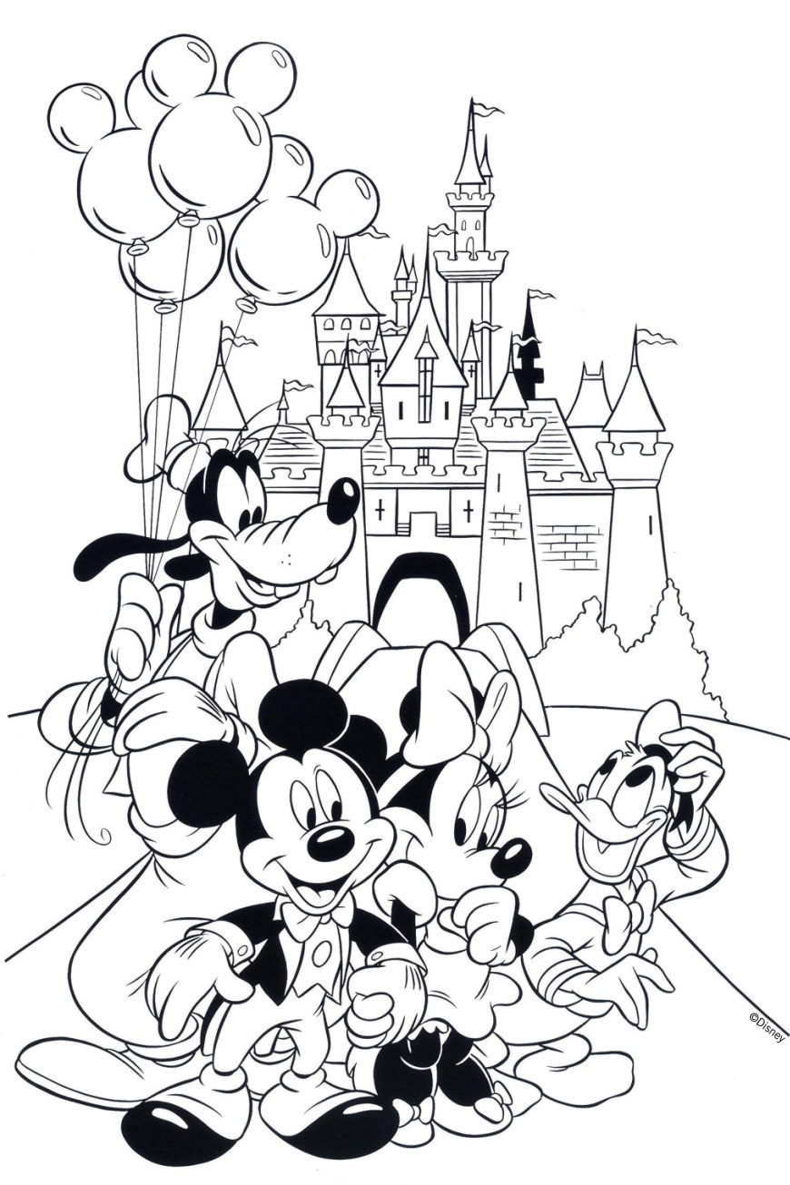 Mickey And Minnie Coloring Pages Ba Mickey And Minnie Coloring Pages Printable Mousemickey Best Of