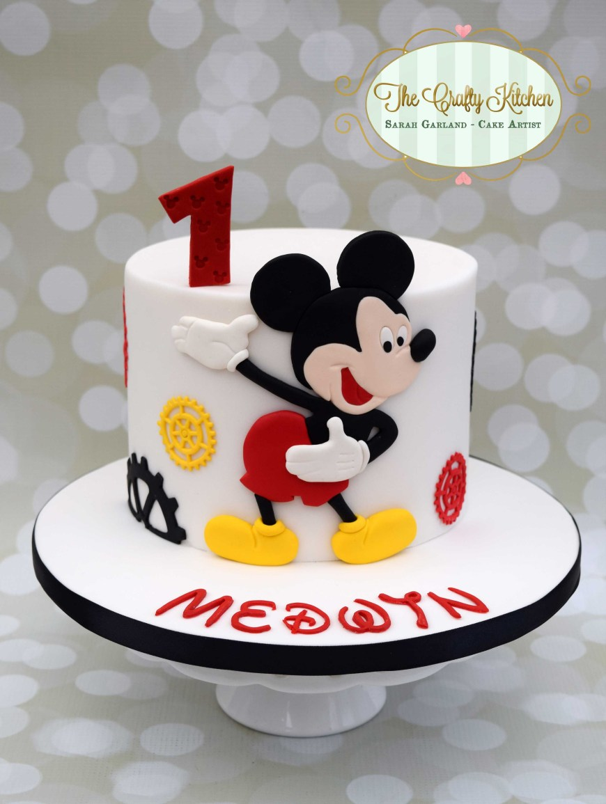 Mickey Birthday Cake Mickey Mouse Birthday Cake Mickey Minnie In 2019 Pinterest