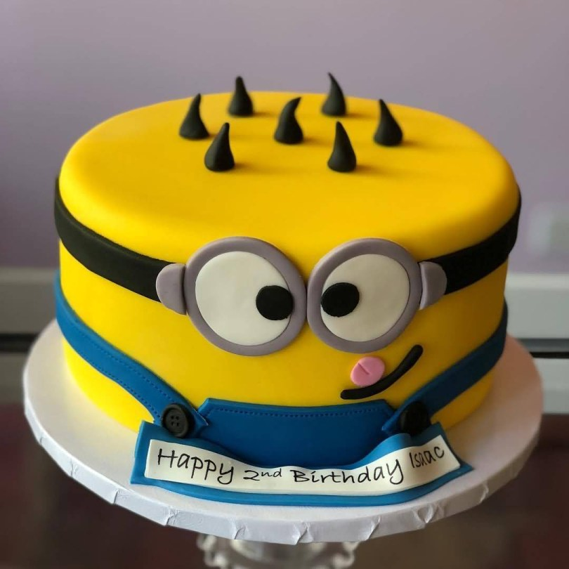Minions Birthday Cakes 2nd Birthday Cake Of Minions Hd Image The Ask Idea