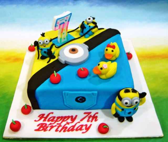 Minions Birthday Cakes How To Make Despicable Me Cake Protoblogr Design