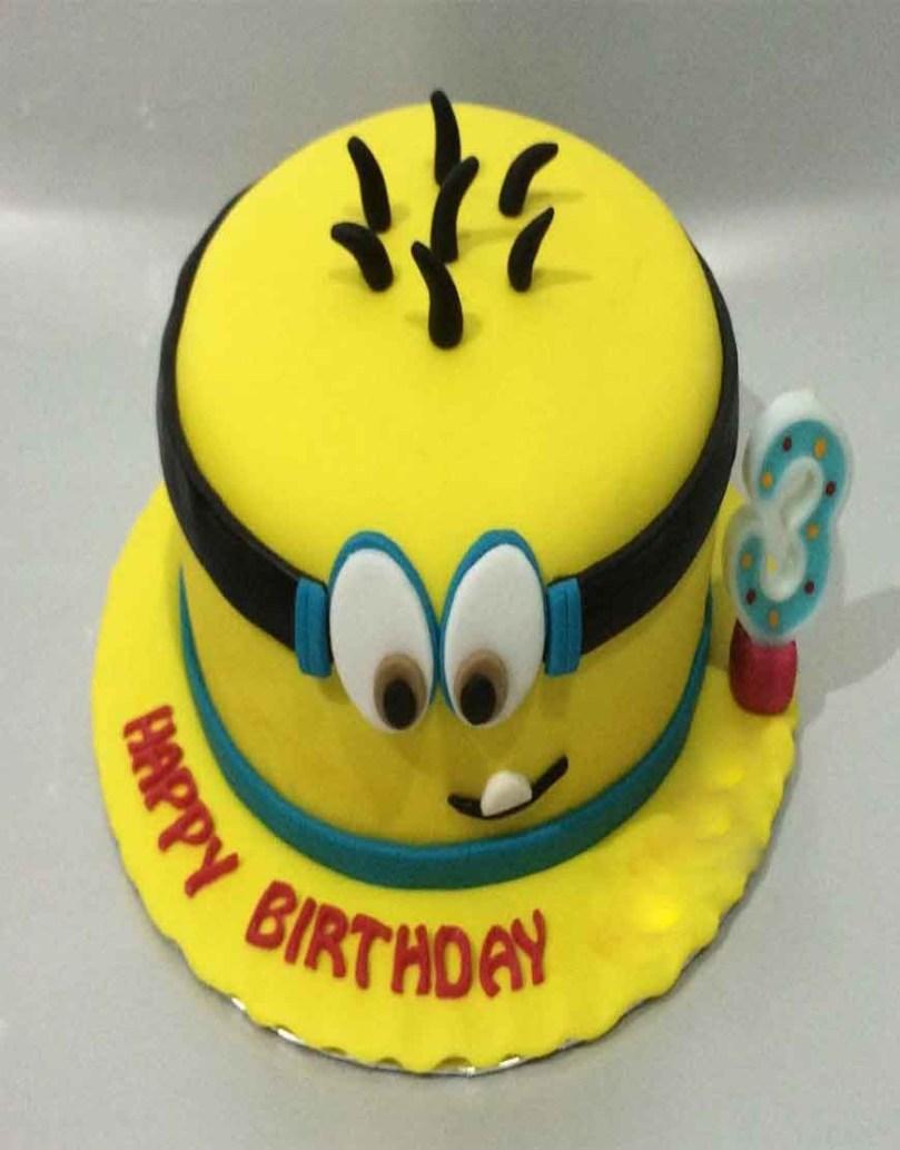 Minions Birthday Cakes Minion Birthday Cakes For Kids Gurgaonbakers