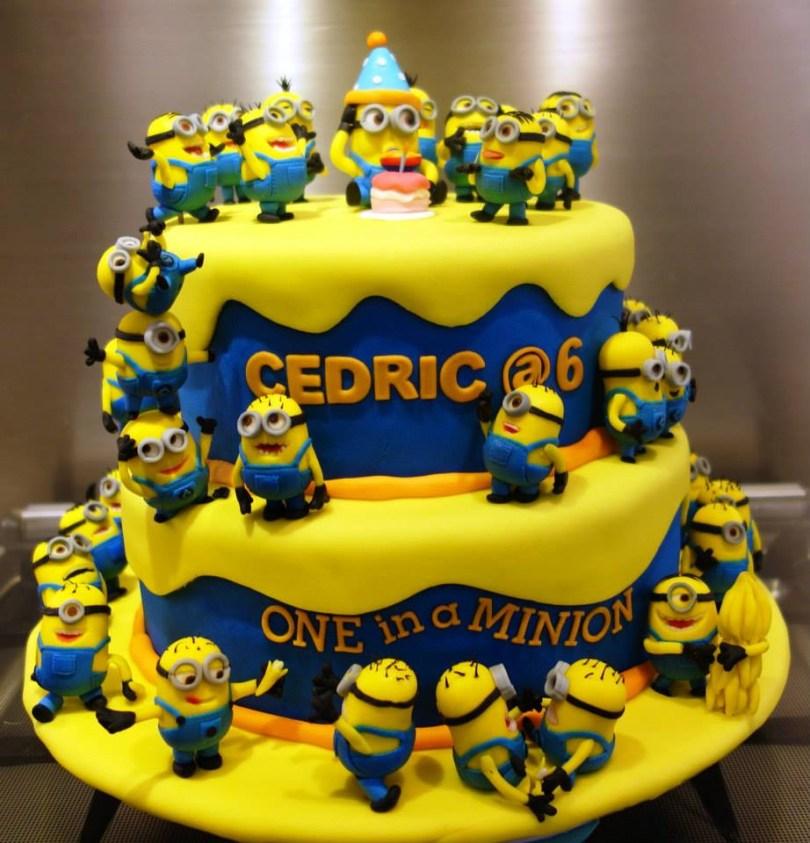 Minions Birthday Cakes Minion Birthday Cakes