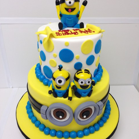 Minions Birthday Cakes Minions Cake Despicable Me Minions Party Birthday Cake