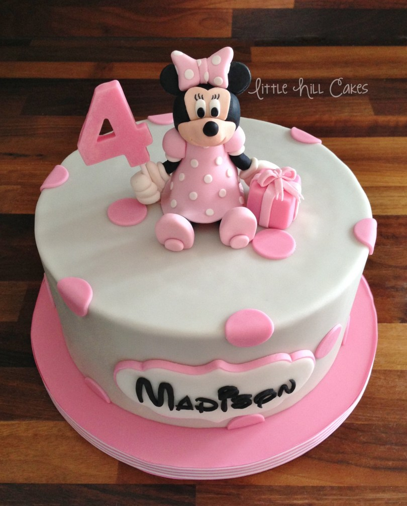 Minnie Mouse Birthday Cake Minnie Mouse Birthday Cake Little Hill Cakes