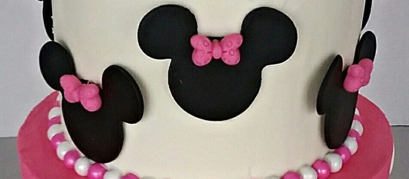 Minnie Mouse Birthday Cake Pin Art Eats Bakery On Girlls Custom Creative Birthday Cake