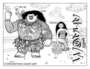 Moana Coloring Pages Pdf Pdf Coloring Pages Zu9x Moana Coloring Pages Free Printable Moana